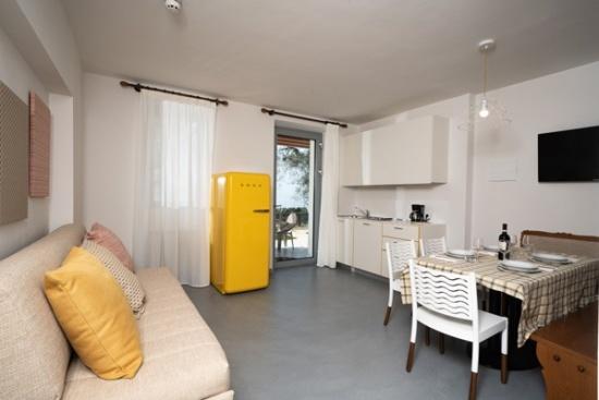 <b>Essensbereich neue/renovierte Appartements