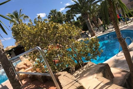 <b>Poollandschaft zum Relaxen