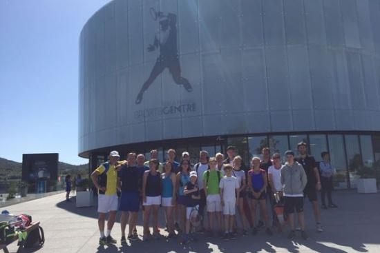 <b>Besuch der Rafael Nadal Academy