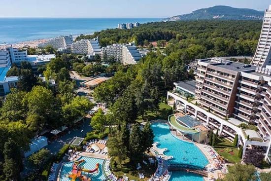<b>Panoramablick vom Hotel