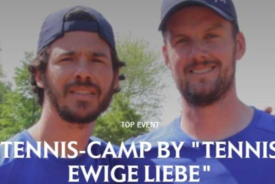 """<b>Marius und Clinton von """"Tennis Ewige Liebe"""""""