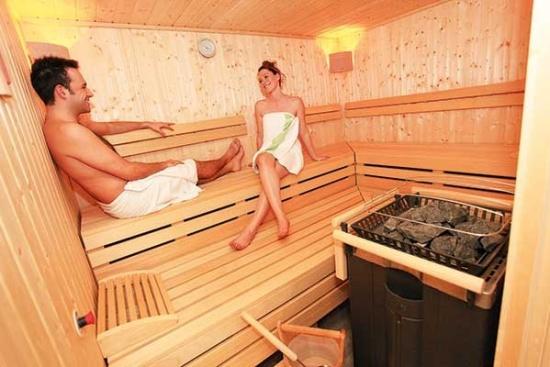 <b>Sauna zur Erholung