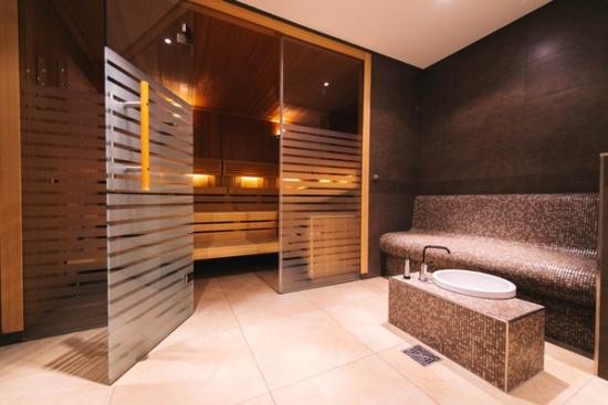 <b>Entspannen in der Sauna