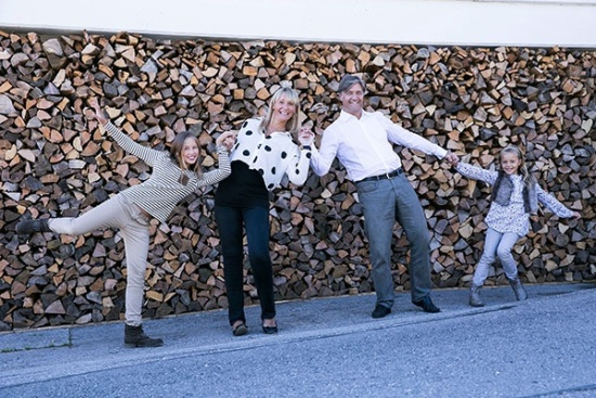 <b>Gastgeberfamilie Kuehbacher
