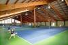 <b>Tenniscamp Naturns mit 4 Hallenplätzen (Gummigranulat)