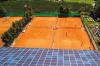 <b>4 Sandplätze im Tenniscamp Naturns