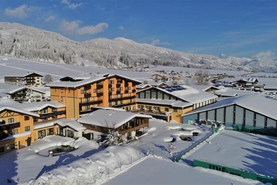 <b>Das Tennishotel im Winter....