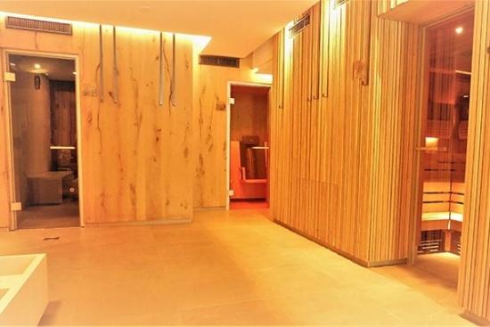 <b>Saunabereich im Vital-Center