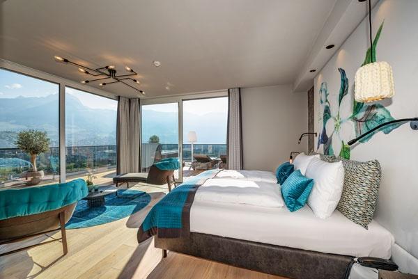 Luxus pur im la maiena meran resort in marling tennishotel in relaxen mit traumblick fandeluxe Image collections