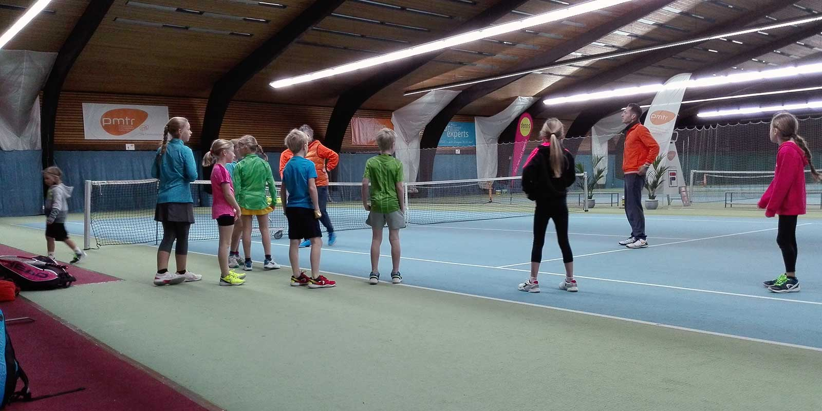 PMTR Tenniscamp Training