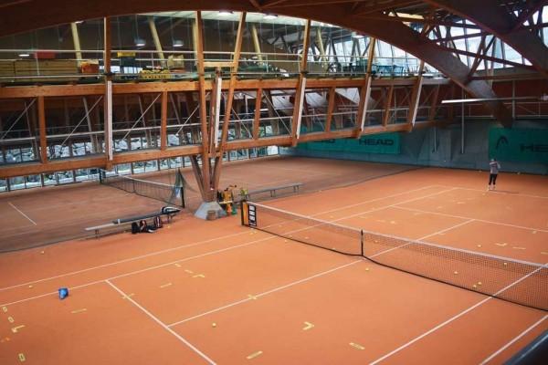 TennisTraveller-Hotel-Post-Bezau-Tennishalle