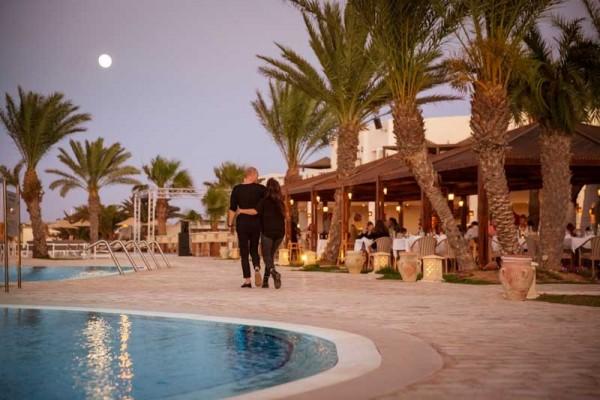 TennisTraveller-Tennishotel-ROBINSON-Club-Djerba-Bahiya-Abendstimmung