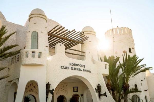 TennisTraveller-Tennishotel-ROBINSON-Club-Djerba-Bahiya-Rezeption