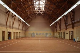 Tennishotel-Gut-Ising-Chiemsee-Tennishalle