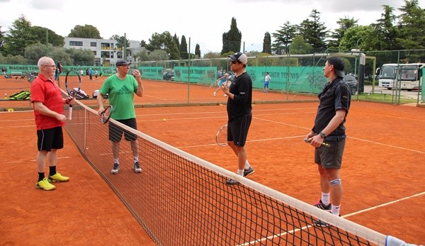 Tennisnet Camp mit Alex Antonitsch in Porec