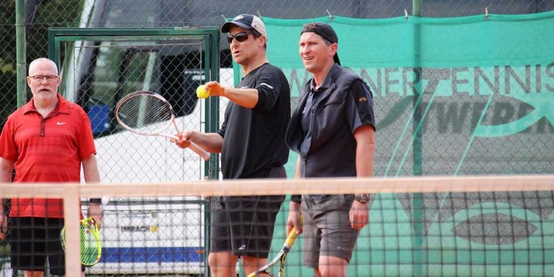 Tennisnet Camp mit Alex Antonitsch in Umag