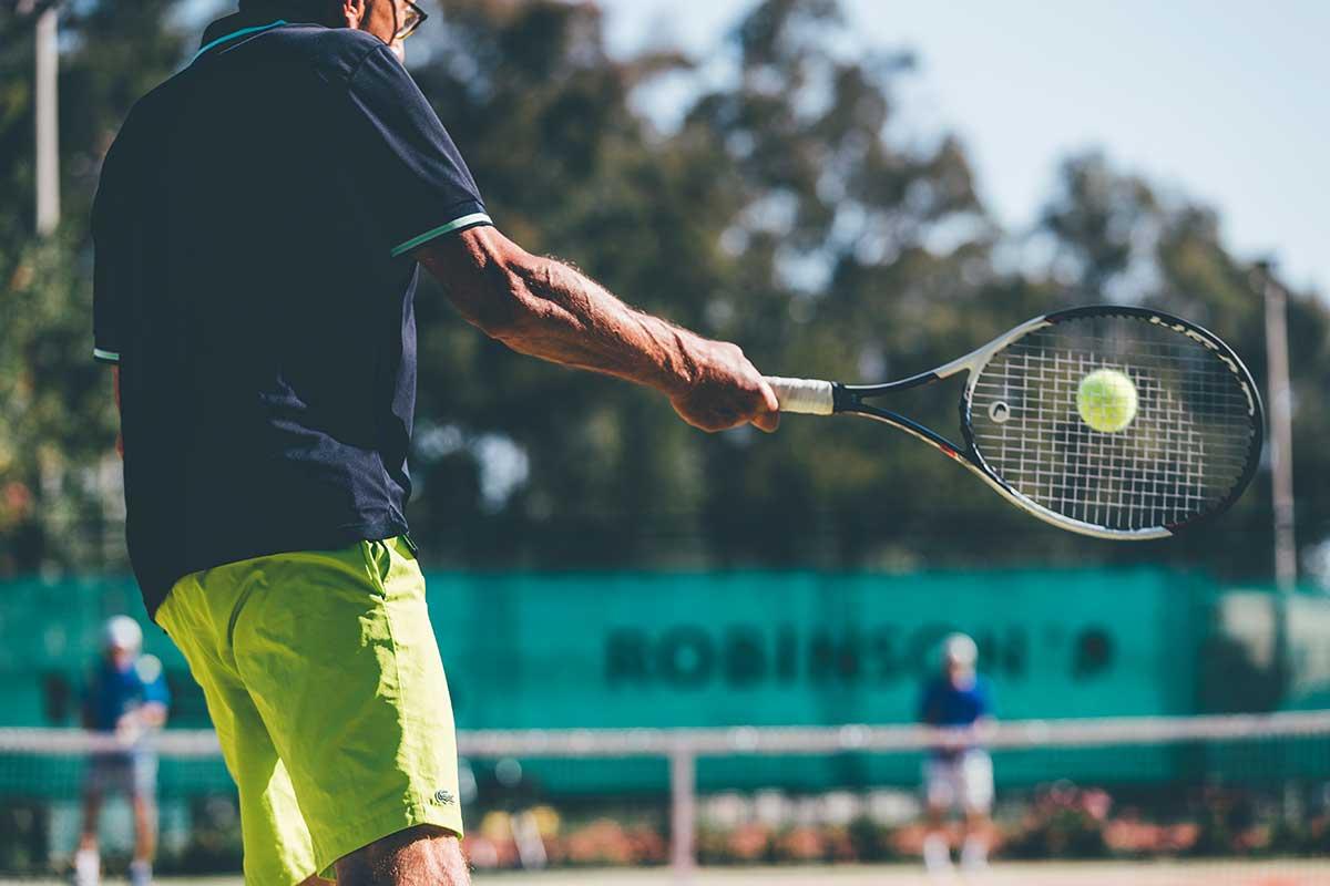 Tenniscamp ROBINSON Kyllini Beach mit Patrik Kühnen