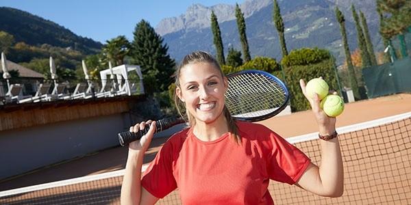 Tennis-Special im la maiena meran resort