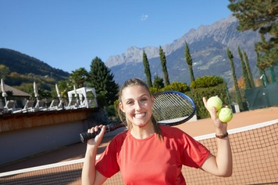 Tennis & Wellness im la maiena meran resort