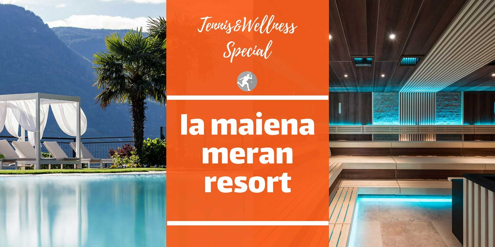 Tennis & Wellness im la maiena meran resort Bild 1