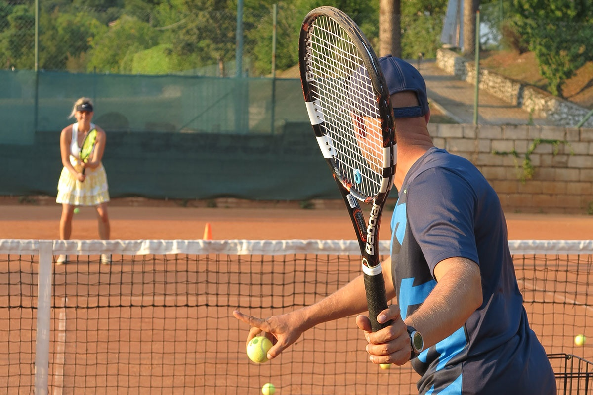 No Limit Tenniscamps am Gardasee