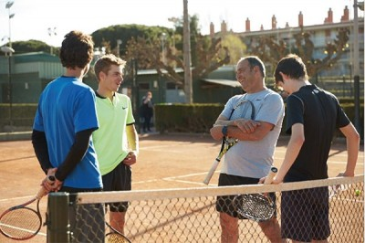 Tenniscamps im Barcelona Tennis Training Center