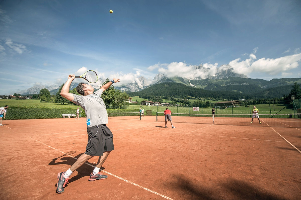 PBI World Tennis Camp im Juni im Stanglwirt