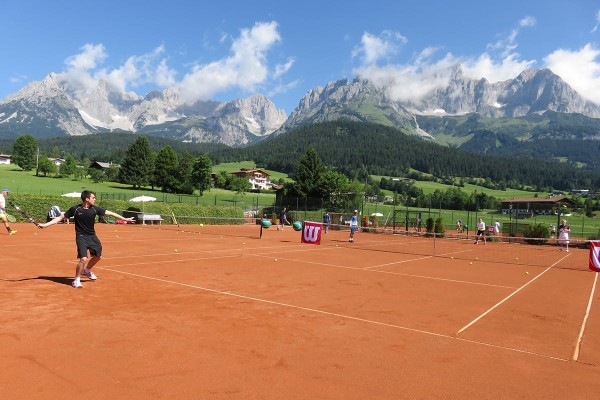 PBI World Tennis Camp im September im Stanglwirt