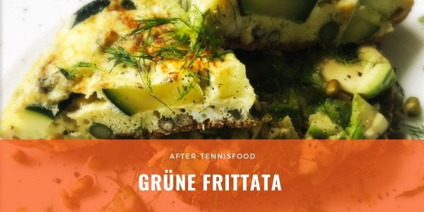 After-Tennis-Rezept: Grüne Frittata