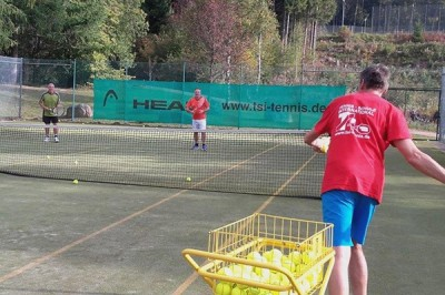 Tennis-Power-Weekend mit TSI Tennis
