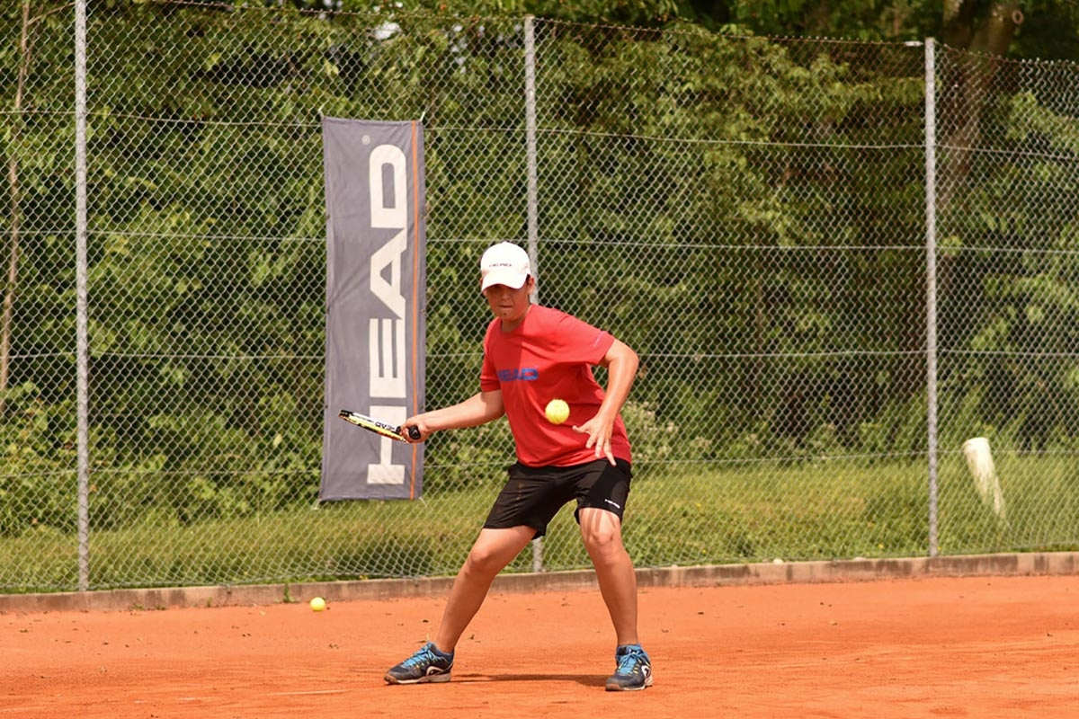 Tennis-Leistungscamp an Pfingsten von Power the Ball