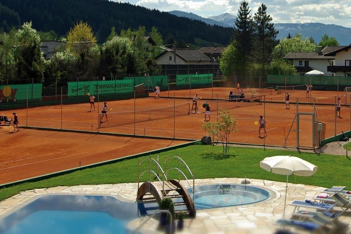 Brixener Tenniswoche im Sommer im Vital&Sporthotel Brixen