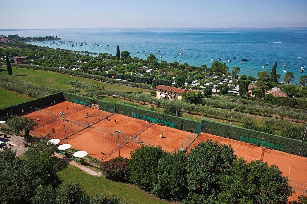 Frühjahrs-Tenniscamps bei Bardolino am Gardasee