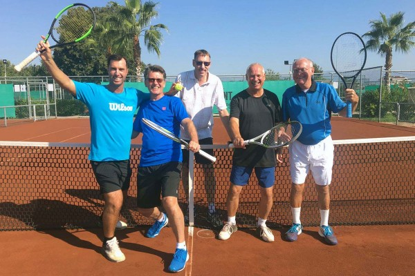 PCT LK-Tenniscamp in Sorgun