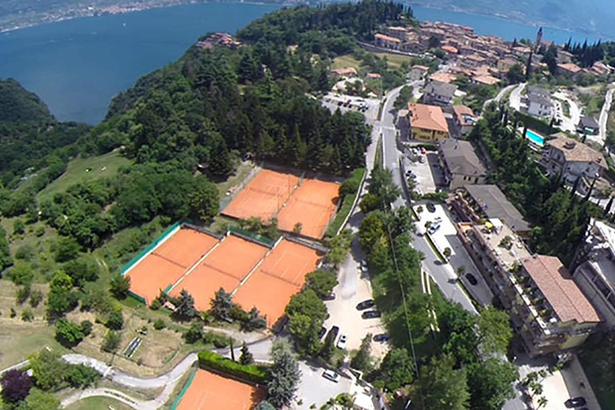 Tenniscamps am Gardasee in der Residence delle Rose