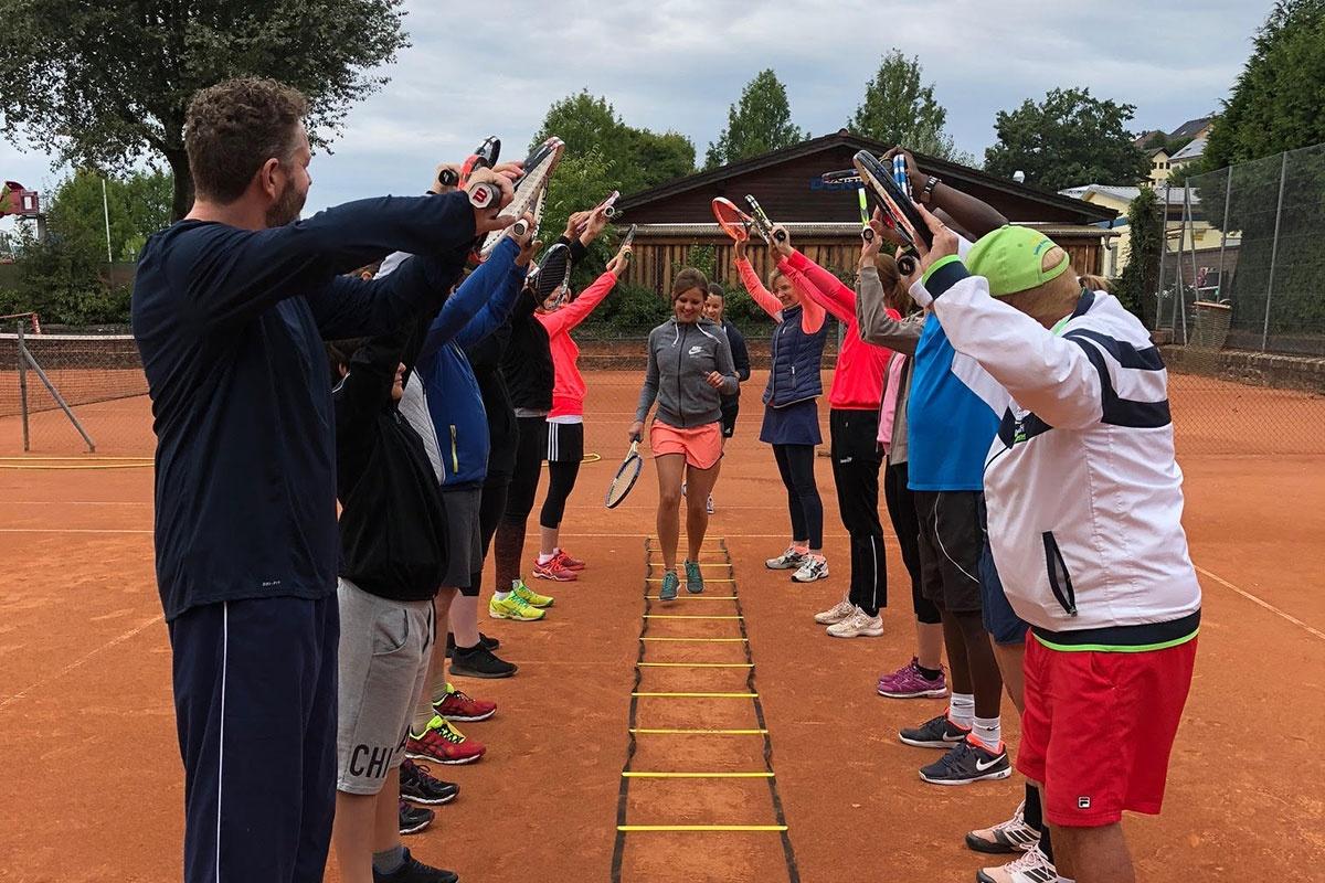 Tenniscamps mit Tennismovement Kinzigtal im hessischen Bad Soden-Salmünster