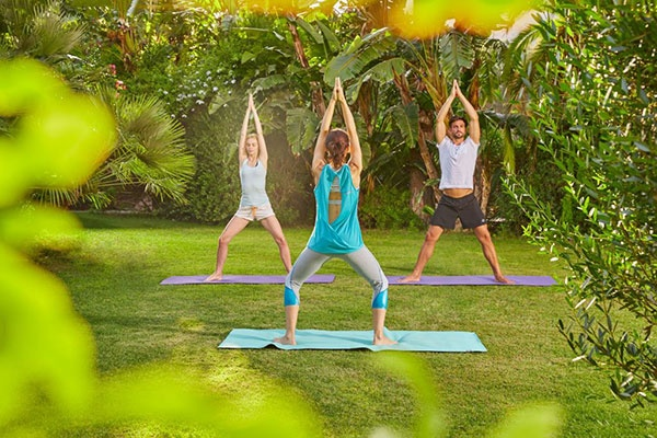 Tennis&Yoga im Forte Village Resort