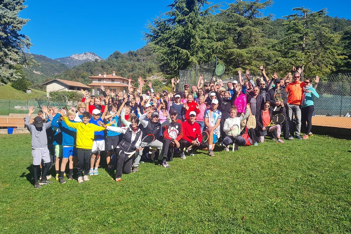 Oster-Tenniscamps am Gardasee mit PLAY THE PRO